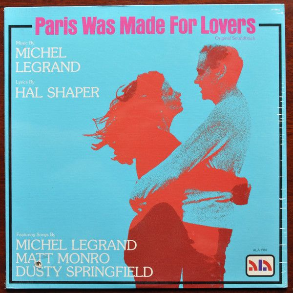 Michel Legrand - Paris Was Made For Lovers: buy LP, Album at Discogs