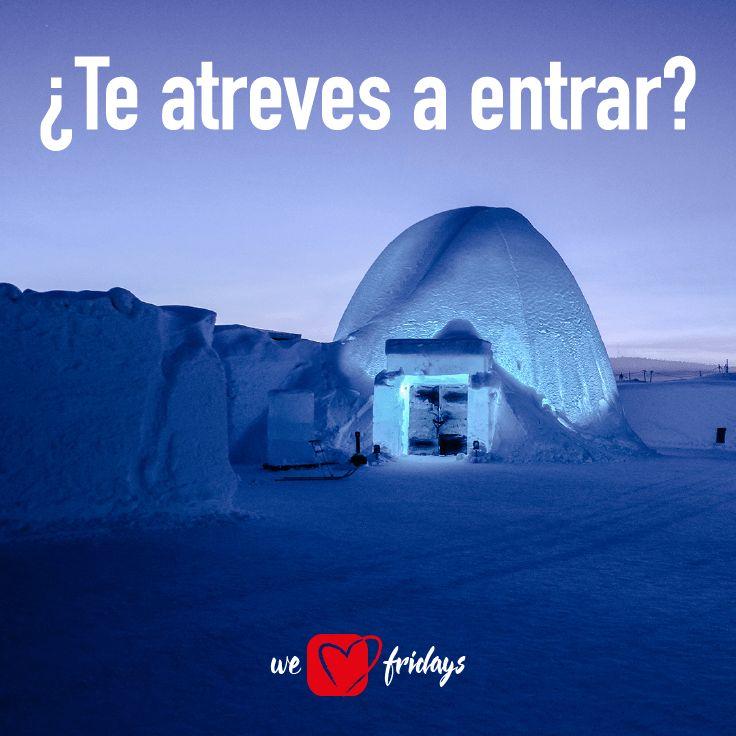 ¿Sabías que ... los mejores hoteles de hielo del mundo se encuentran en: Jukkasjärvi (Suecia), Quebec (Canadá), Saariselkä (Finlandia), Alta (Noruega) y Grandvalira (Andorra)? ❄ ☃ #CuriosidadesFrideals