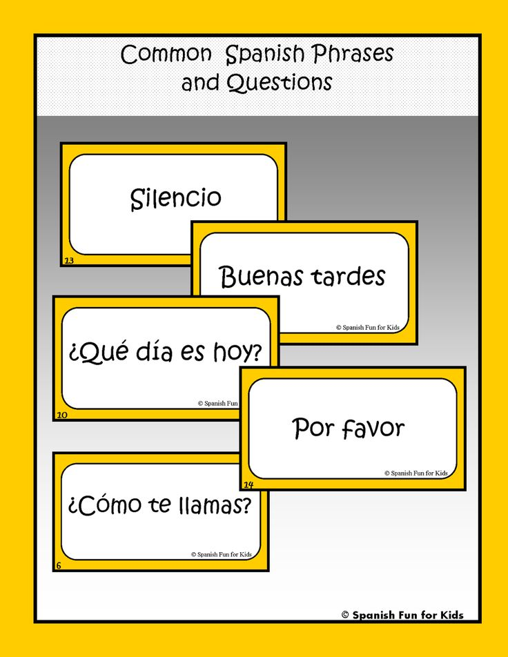 Spanish Phrases and Common Sentences - Learn Foreign Languages
