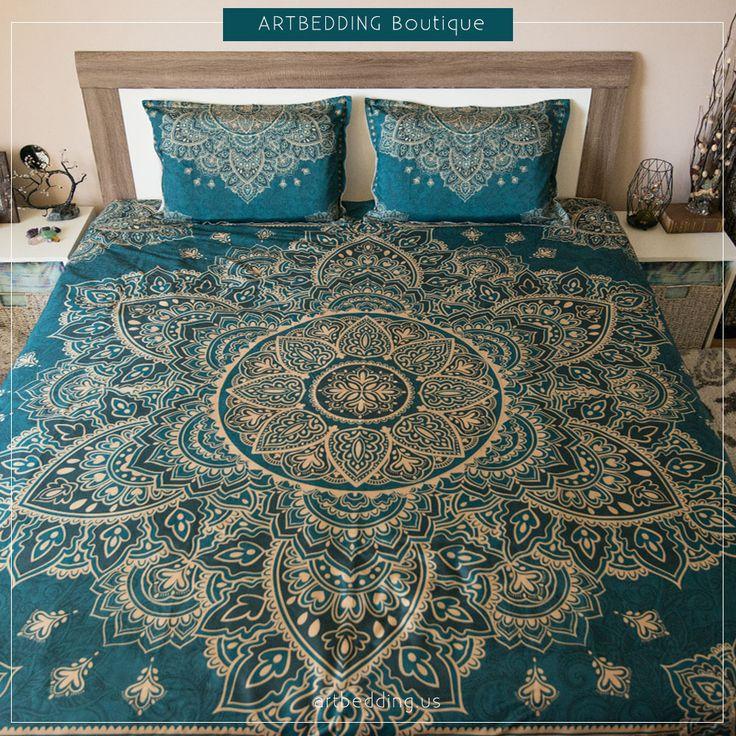 45 best {Home} Bedroom - Teal, Brown & Gold images on ...