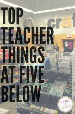 Top Teacher Things from the store Five Below. So Many ideas for all over the classroom!