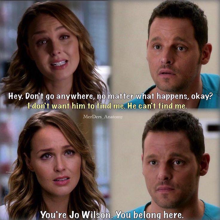 13x09 Primo episodio Jolex con Jo non ridicola. (Alex, vabbe', sempre Lui.)