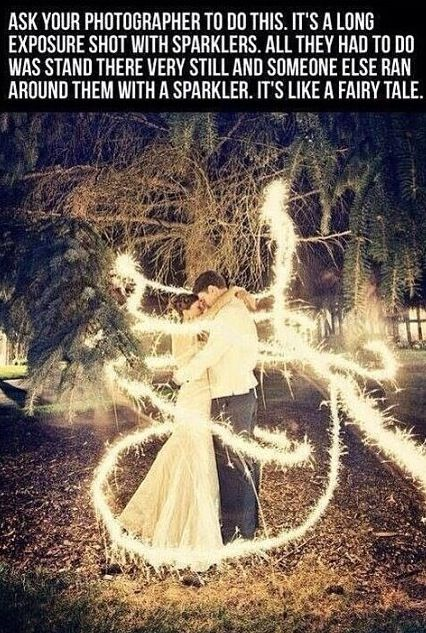 A long exposure shot wit sparklers. Definitely using this for wedding pictures :D 15 years from now.. Haha