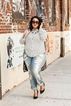 Fashionista: Plus Size Street Style