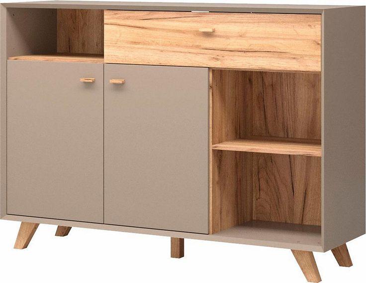 Sideboard »Calvi«, Breite 142 cm Jetzt bestellen unter: https://moebel.ladendirekt.de/wohnzimmer/schraenke/sideboards/?uid=867ae0fc-546c-5e76-b22c-370632a7c186&utm_source=pinterest&utm_medium=pin&utm_campaign=boards #schraenke #wohnzimmer #sideboards