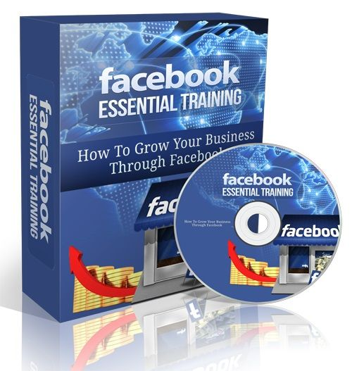 Facebook Essential Video Training -   This is a comprehensive Facebook training program that will show you step-by-step how to get a massive amount of traffic through Facebook. You're going to discover the exact tactics successful Internet marketers and major corporations use to gain exposure for their businesses.