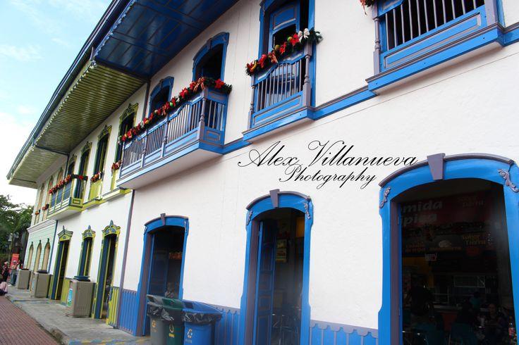 calle Parque del Cafe