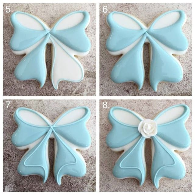 Learn how to make the most PERFECT bow sugar cookies ever with Delorse from…
