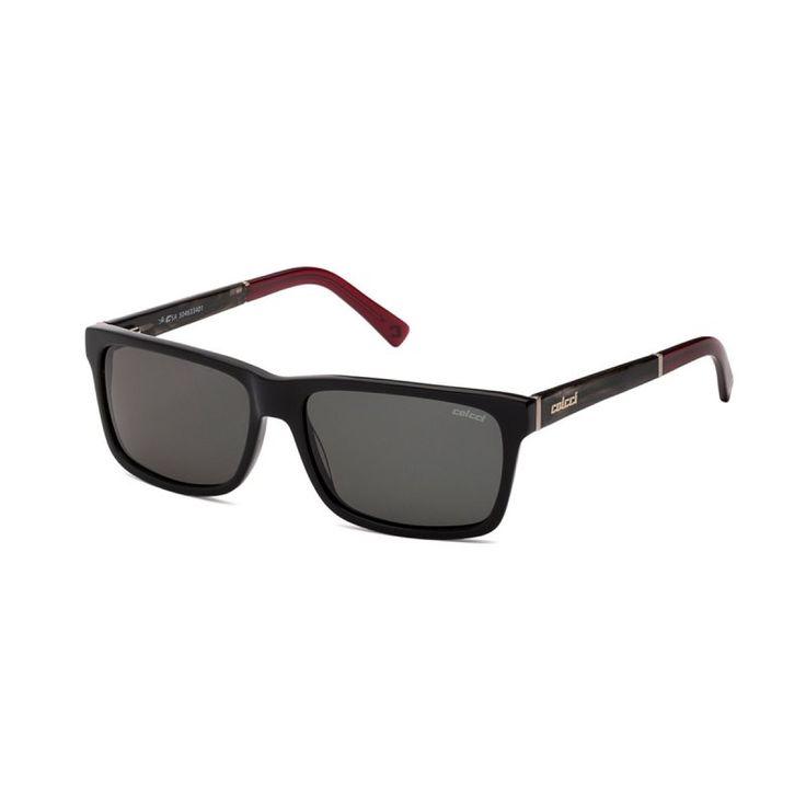 Óculos de Sol Colcci 5046 Preto e Vermelho Masculino - Colcci Eyewear