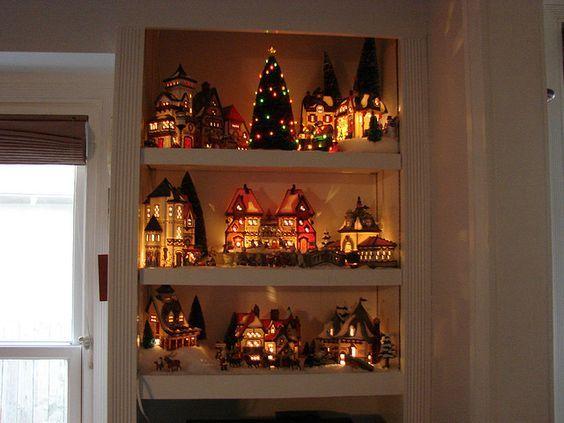 un village de noel en miniature si vous aimez decorer votre interieur pendant noel vous allez adorer la suite jetez donc un petit coup d oeil a ces 15