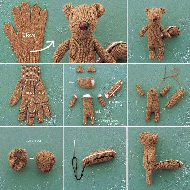Glove animal