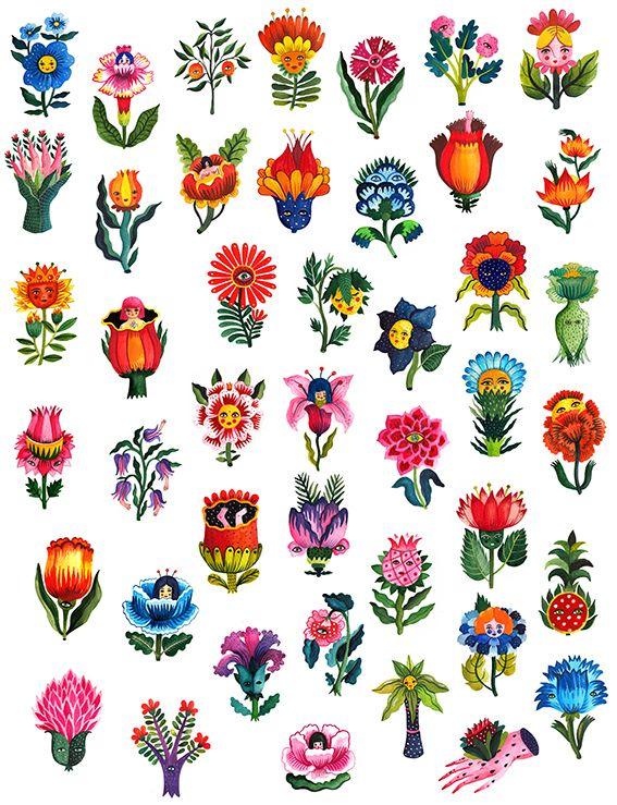 Flora Magica on Behance