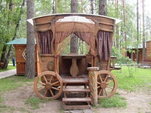 Фото садовой мебели, беседки - Категория: Садовые постройки, беседки, мебель - Изображение:  Садовая беседка