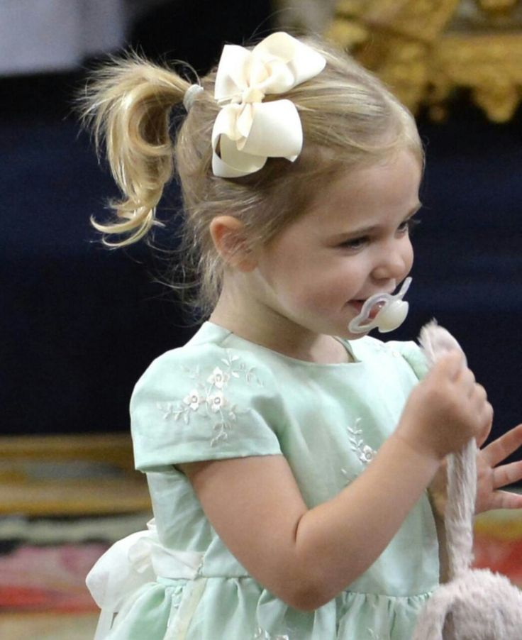kungahuset — Princess Leonore of Sweden during the christening...