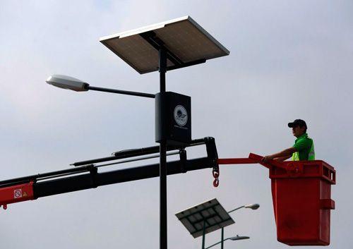 Luminarias Solares para Alumbrado Público | SAECSA
