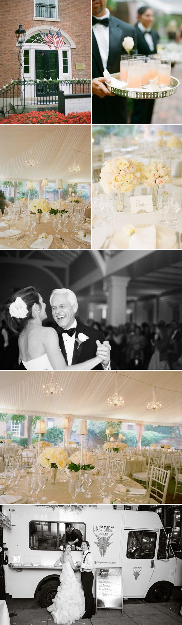 Beautiful DC wedding at Decatur House. Photos by Abby Jiu.