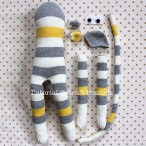 sock monkey! #crafts
