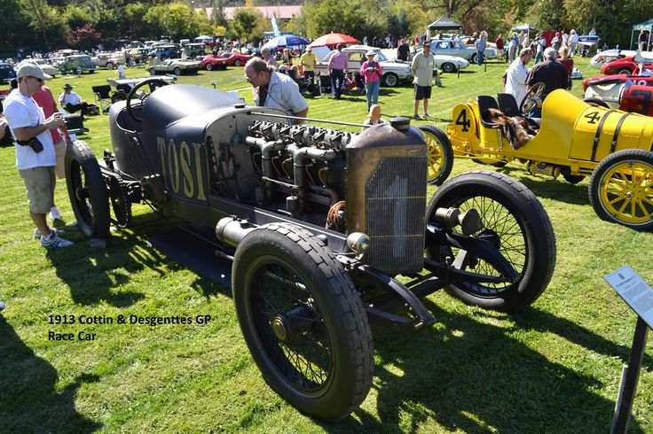 1913 Cottin & Desgenttes GP Race Car from 2013 Ironstone Winery Concours
