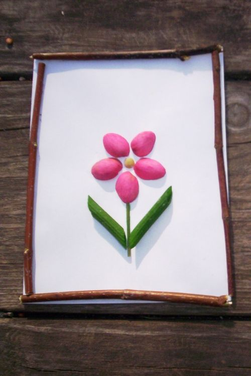 Crea con cáscaras de pistachos