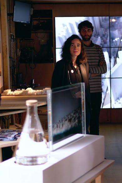 """# résidence d'artistes au café Europa n°4 - """"Ereb Assou"""", Audrey Martin & Thomas Rochon-Connetable - Mons2015. Exhibition in collaboration with La Panacée, Montpellier, France ©David Olivari"""