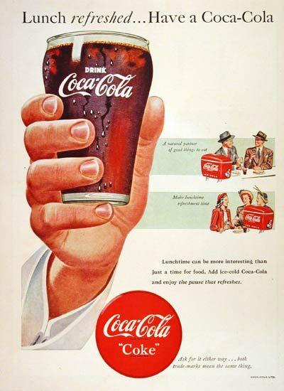 1948 Coca Cola Ad