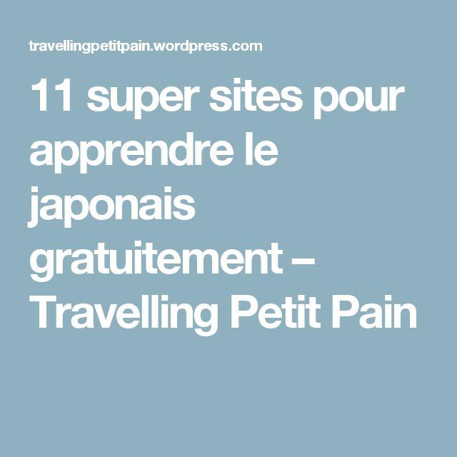 11 super sites pour apprendre le japonais gratuitement – Travelling Petit Pain