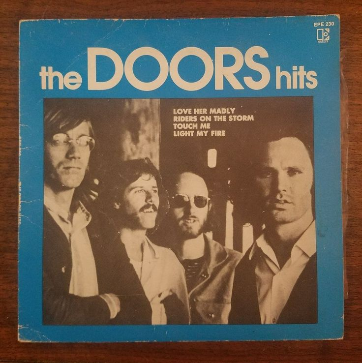 The Doors Hits - 4 song EP Australian release with picture sleeve #thedoors #single #vinyl