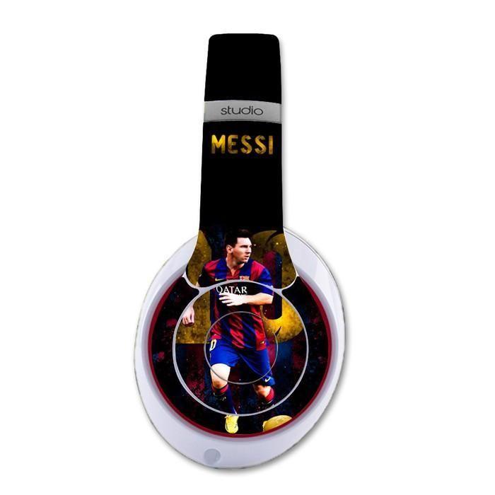 Messi decal for Monster Beats Studio 2.0 wireless headphones