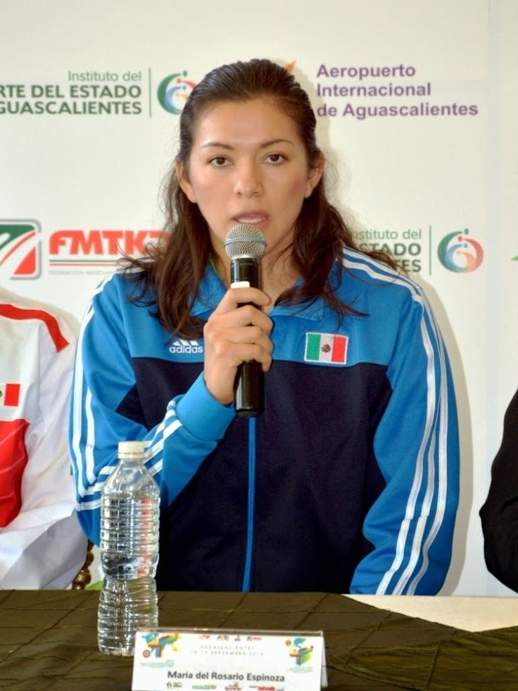 María del Rosario Espinoza se ve en Juegos Olímpicos en Brasil 2016 ~ Ags Sports