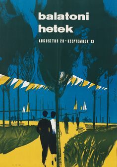 travel posters Hungary