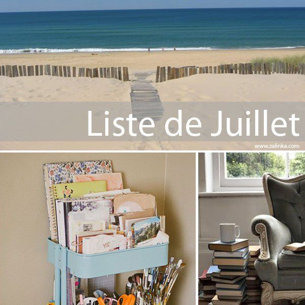liste de juillet