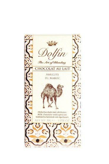 Lait abricots  - Pause douceur ; le chocolat au lait se voit délicieusement rafraîchi par le parfum acidulé et chaud de l'abricot.  Teneur en cacao : 38%.