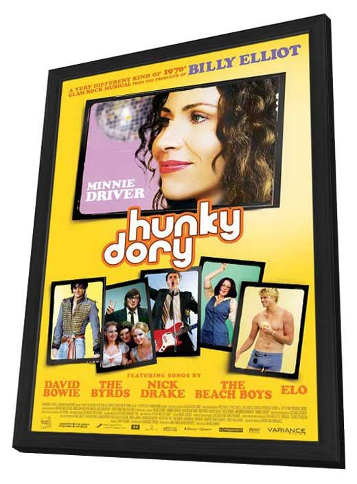 Hunky Dory 27x40 Framed Movie Poster (2013)