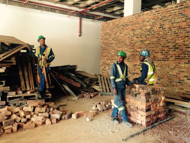 #Construction well underway on our new project for #Viva #Gym, #Rosebank, #Johannesburg. #Business #of #design. #Project #management