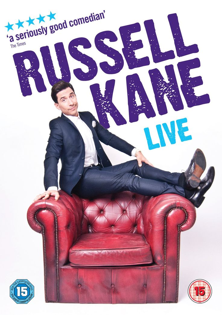 Russell Kane Live [DVD] [2015]