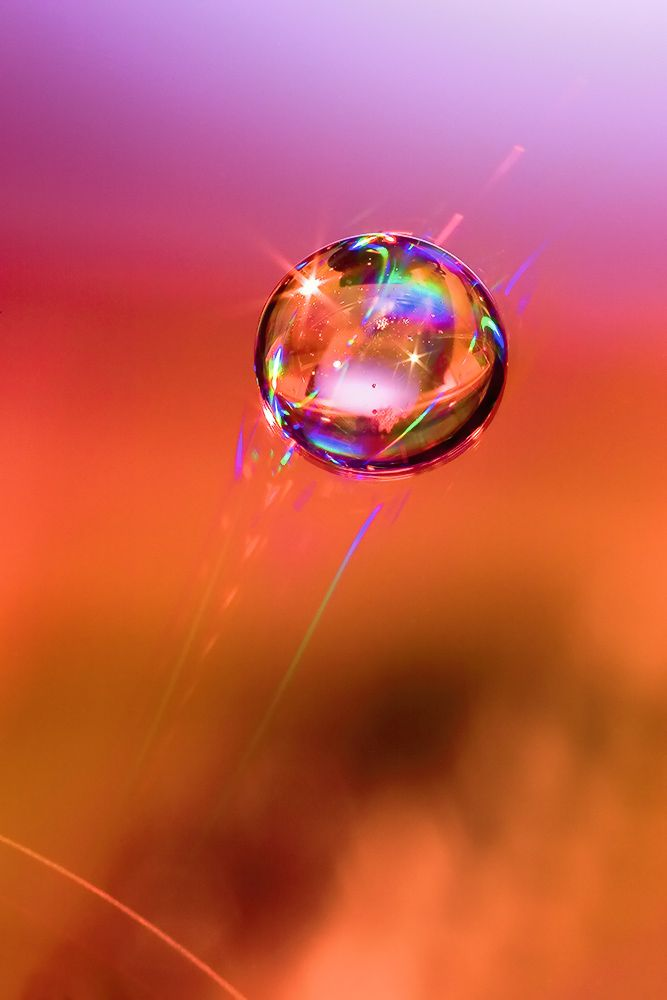 Abstract No. 5 by `PhotosbykevOrange, Waterdrop, Colors, Beautiful, Bubbles, Dew Drop, Water Droplets, Colours, Aweinspir Photography