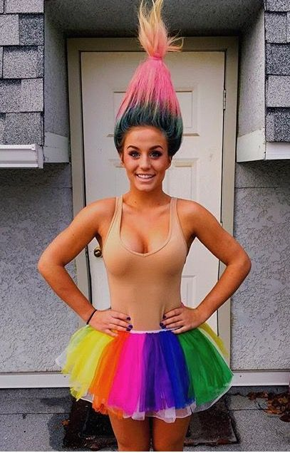 Troll costume                                                                                                                                                                                 More #halloweencostumekids