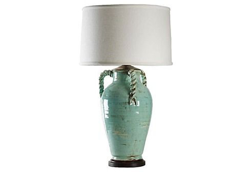 I want this pottery-lamp!: Pottery Lamps Blu, Lamps Blue