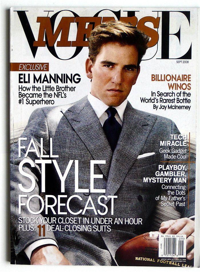 Men's Vogue September 2008