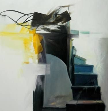 "Saatchi Art Artist Constantin Tanislav; Painting, ""Steps between worlds"" #art"
