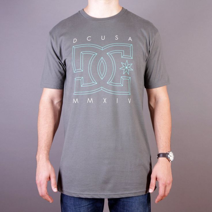 Grafitowa koszulka męska DC RD Deluxe Tee, T-shirt Rob Dyrdek Charcoal - kolekcja Fall/Winter 2014 / www.brandsplanet.pl / #dc shoes #skate #skateboarding