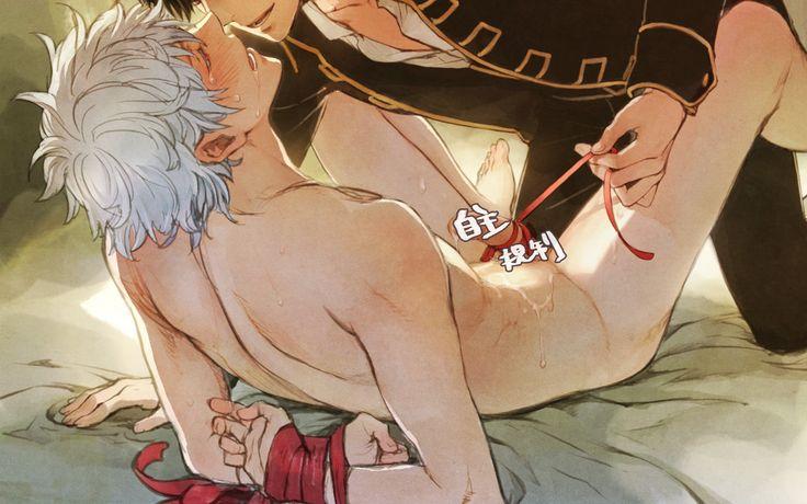 Hijikata Toshirou x Sakata Gintoki Anime-Manga: Gintama Artist: http://www.pixiv.net/member.php?id=380067