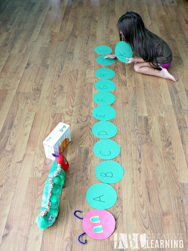 Alphabet Activity Inspired by The Very Hungry Caterpillar + Giveaway Game