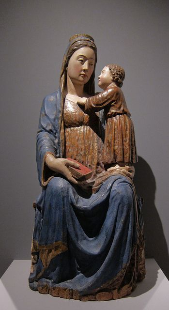 Madonna and Child (Madonna of the Carmel), Master from Abruzzo, 1st half 15th century