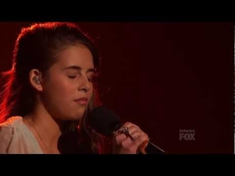 """Carly Rose Sonenclar - """"Over the Rainbow"""" -   Live Show 6 - The X Factor USA 2012 - Top 10 One of the best versions I've ever heard."""