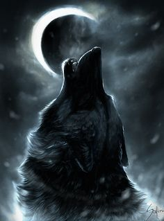 Wolf Howling At The Moon Painting Wolves wolf howl