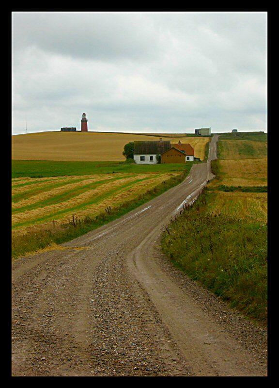 Bovbjerg lighthouse - Bovbjerg, Ringkobing
