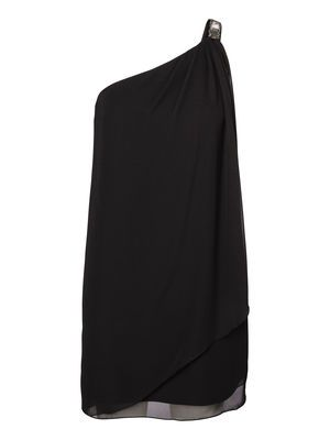 GREEK ONE-SHOULDER DRESS Holiday Countdown contest. Pin to win the style! #VEROMODA