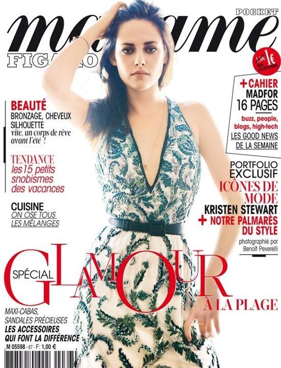 KS: Madame, Covers Fashion, Kristen Stewart, Kristen Covers, In 2012, Figaro Covers, Magazines Covers, Madame Figaro, Curb Magazines