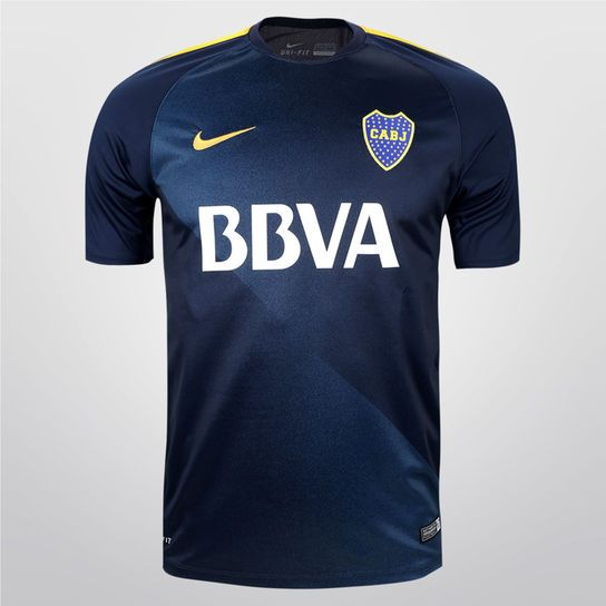 Remera Nike Boca Juniors Flash PM - Azul+Amarillo